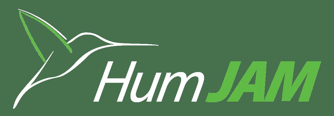Hum JAM Logo White